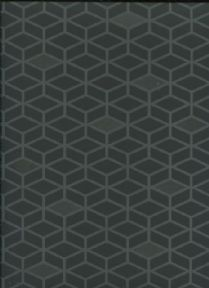 Paper & Ink Black & White Wallpaper BW20900 By Wallquest Ecochic For Today Interiors